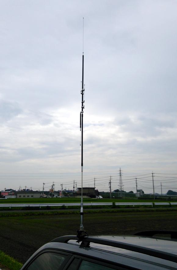 Mアンテナ「第一電波・HV7CX」